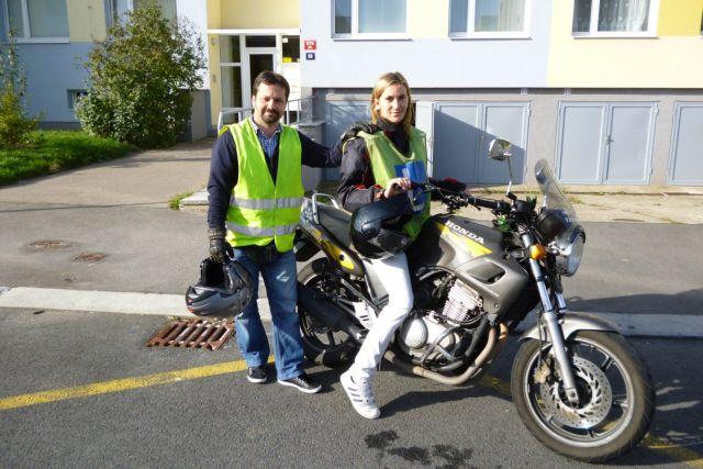 Foto: Řidičský průkaz na motocykl
