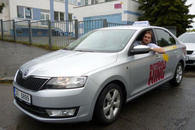 Foto: Řidičský průkaz na osobní automobil